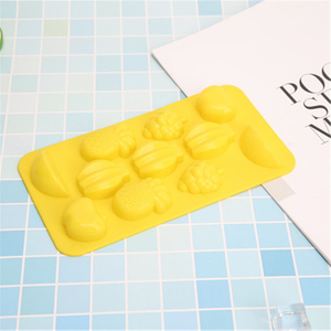 Silicone Cute Fruit Cookie Mold for Home